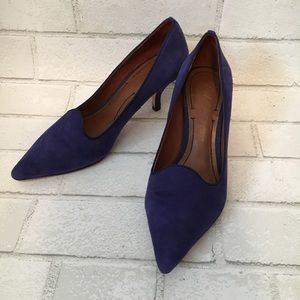 Elizabeth and James Clark pumps Suede size 7